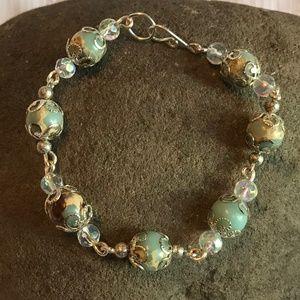 Handmade Blue Jasper Gemstone Jewelry